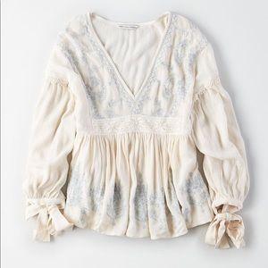 NWT Bohemian blouse